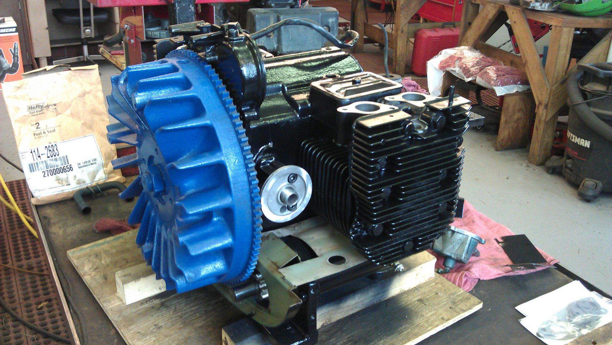 Kohler K582 Full Engine Rebuild Out of a Scale Calibration Machine