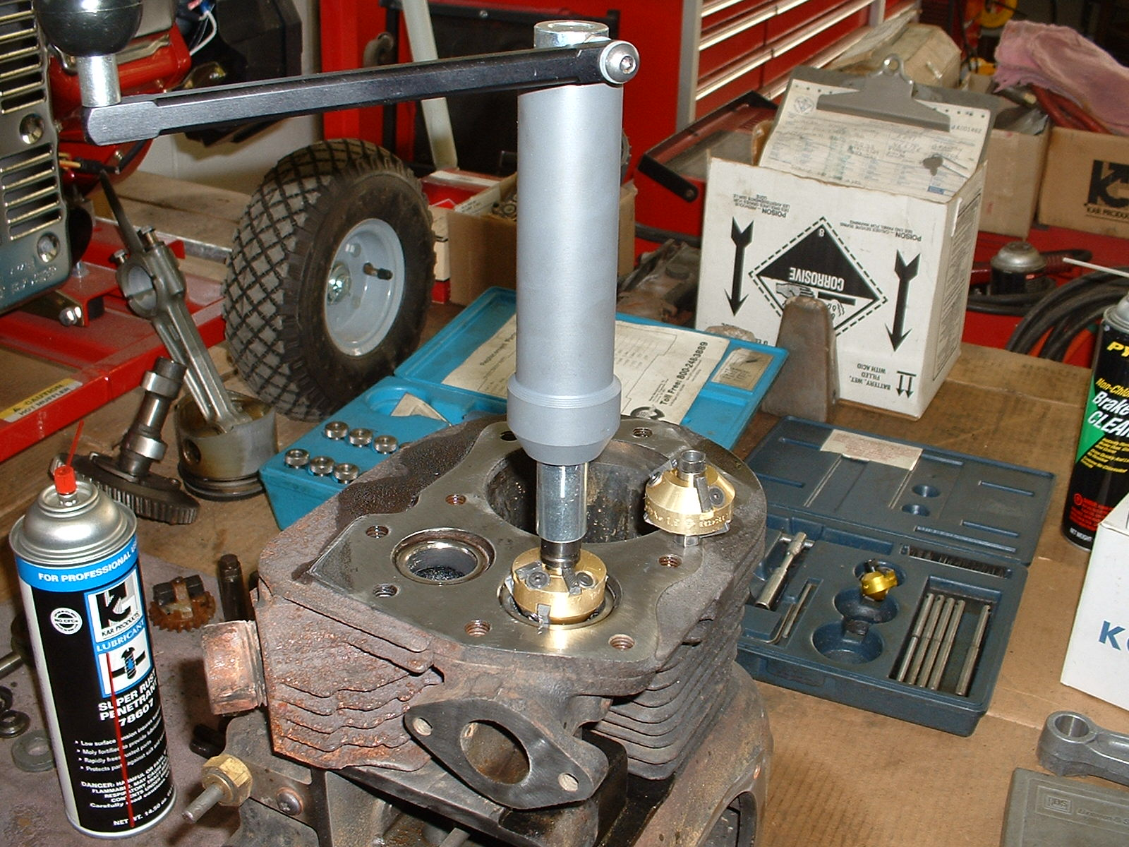 Hand-Rebuilding an Engine
