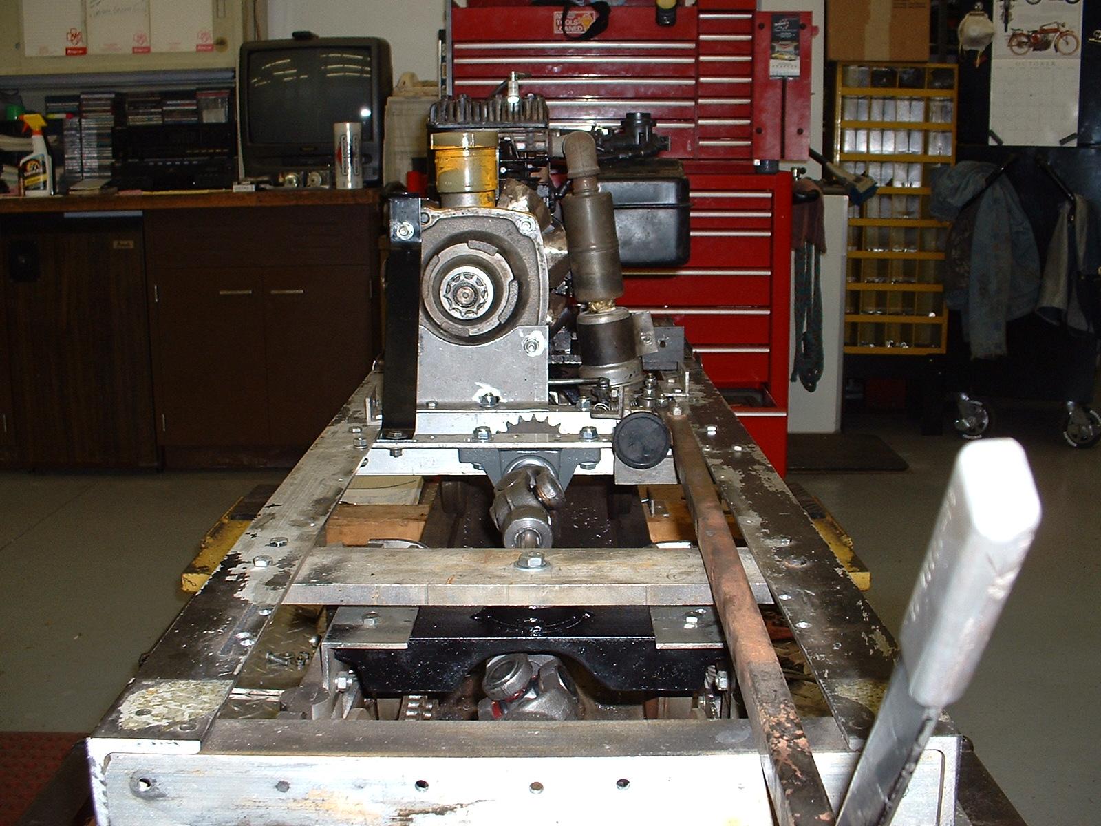 Restoration - 7 Gauge Train Engine